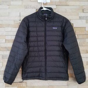 Patagonia Mens XS Black Down Puffer Jacket Coat